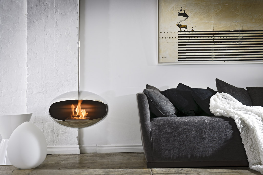 cocoon aeris bioethanol fireplace cape town beauty fires. Black Bedroom Furniture Sets. Home Design Ideas