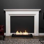 Fold 800 Slimline bioethanol fireplace black lifetsyle