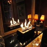 Avani Black bioethanol fireplace 1