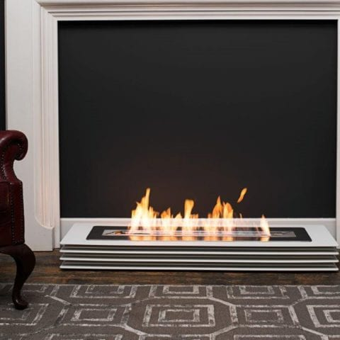 Contour bioethanol fireplace
