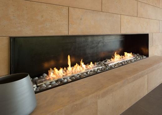 slimline bioethanol burner modern fireplaces beauty fires