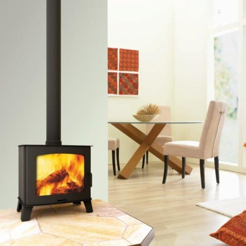 Deco Maxi slow combustion wood fireplace