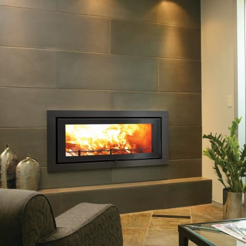 Canature XL Taurus closed wood burning fireplace