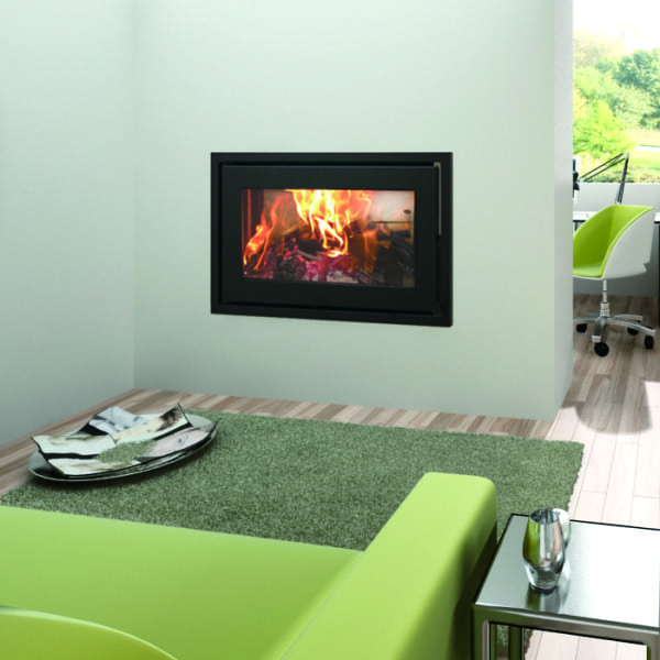 Canature Taurus P3F DS closed wood burning fireplace