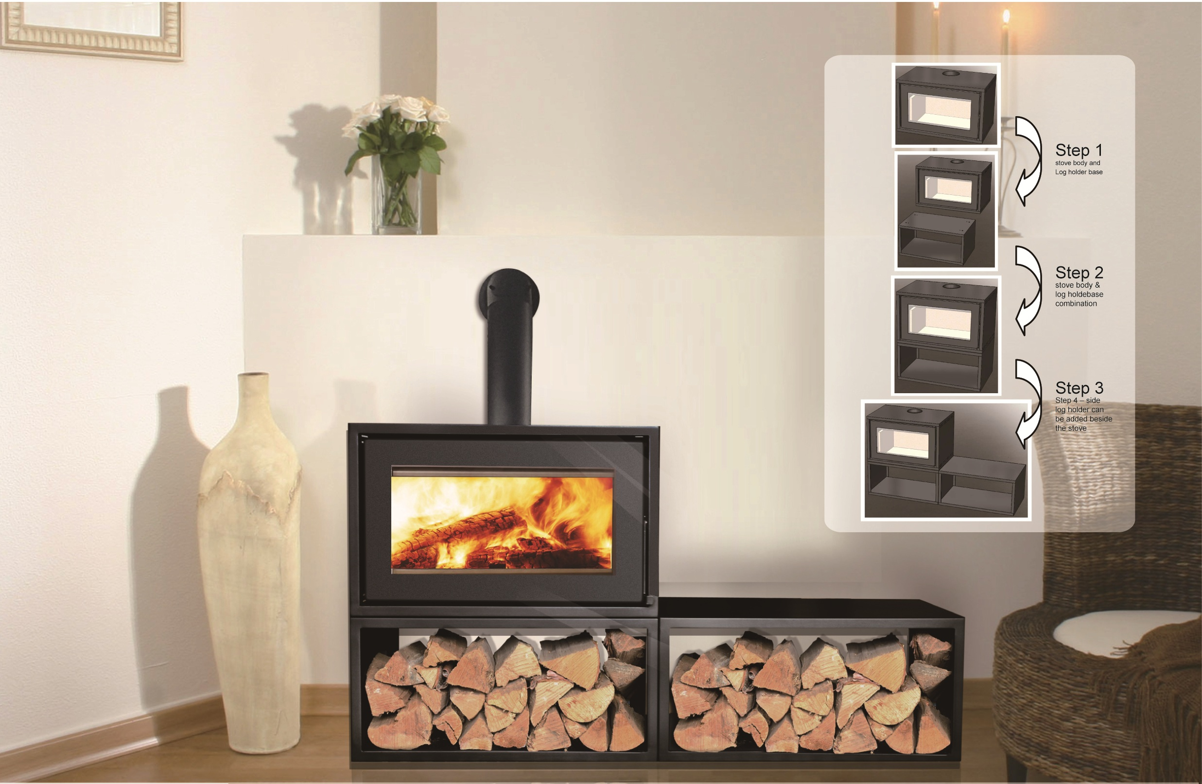 burning classic pacific stoves wood products depot fireplace standing fireplaces free energy alt alderlea stove