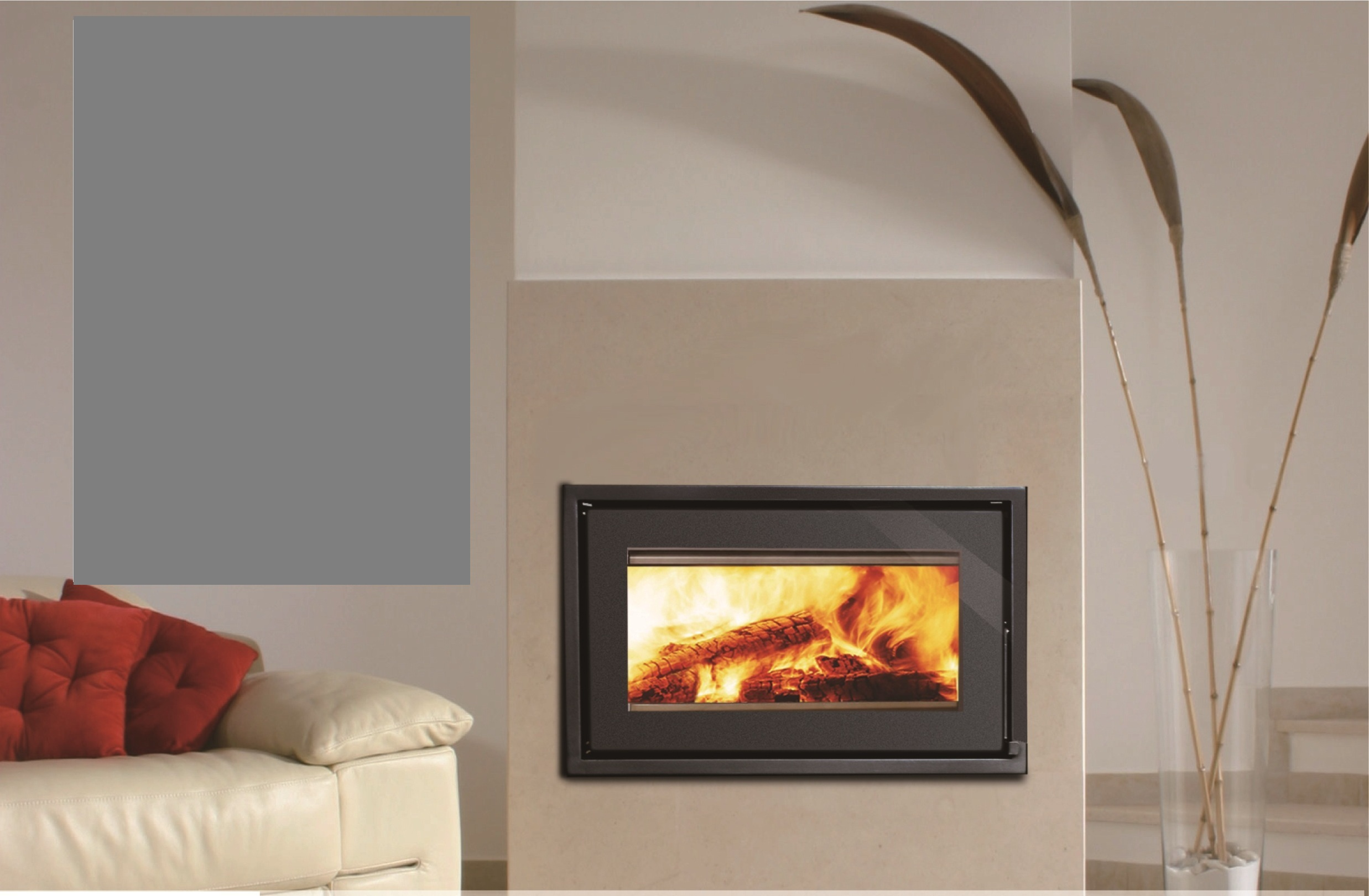 Taurus closed wood burning fireplace - Beauty Fires