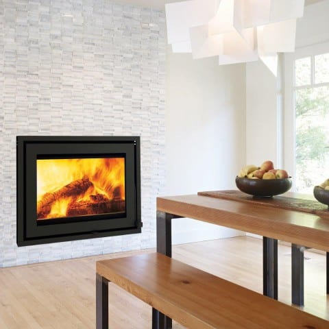 Taurus SI closed wood burning fireplace