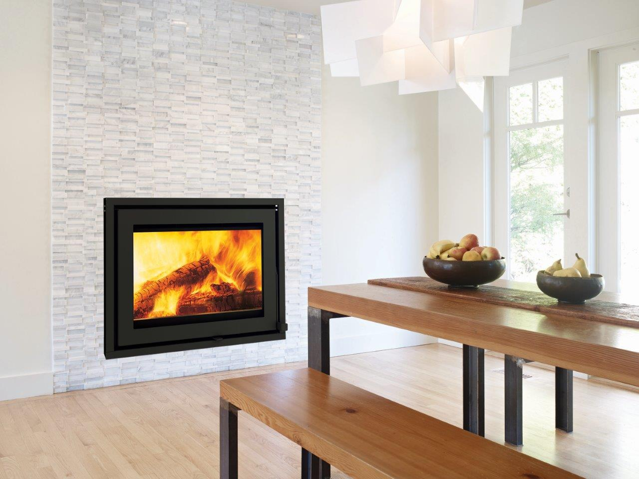 Taurus Si Closed Wood Burning Fireplace Beauty Fires