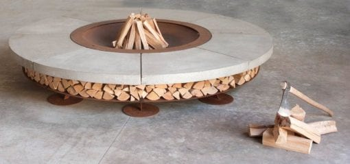 Ercole Wood Burning Fire Pit