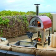 Margherita wood pizza oven