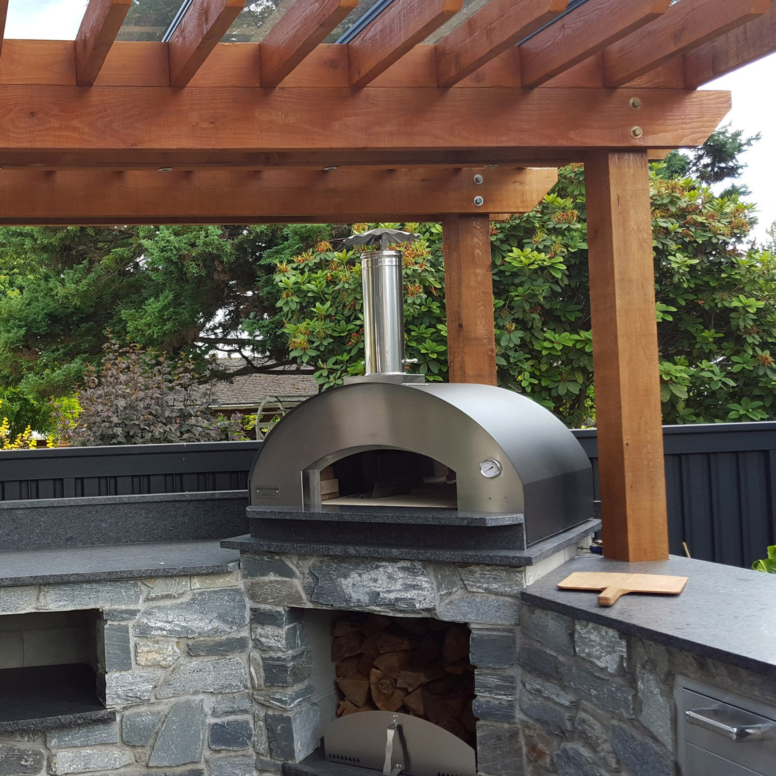 Home Wood Oven ~ Mangiafuoco wood pizza oven