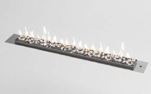Drop in Fluless gas fireplace by Signi Fires