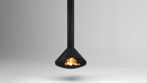 Cone 1000 suspended fireplace