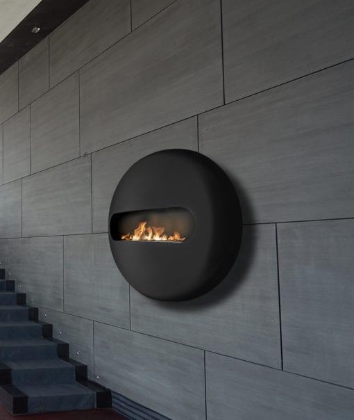 Dot Flatback bioethanol fireplace