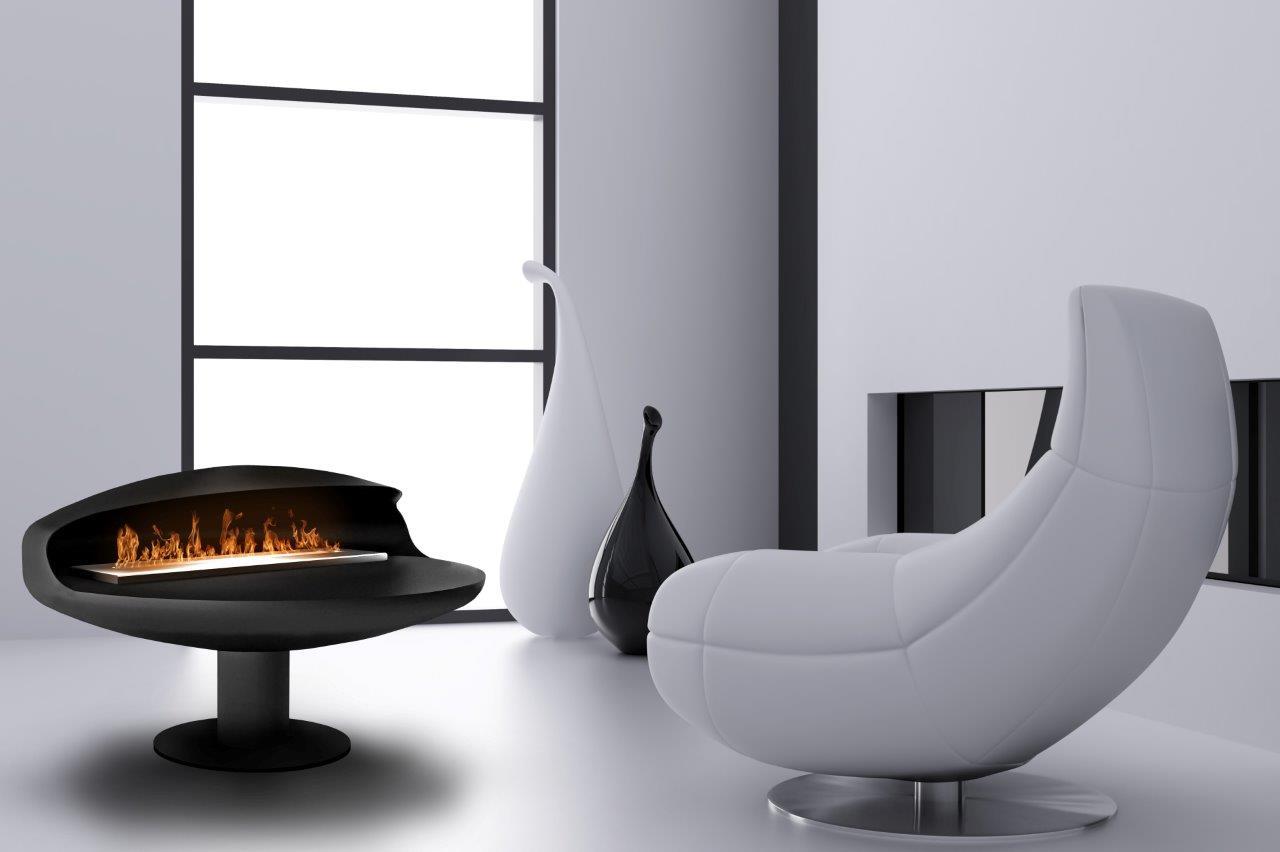 float pedestal bioethanol fireplace beauty fires