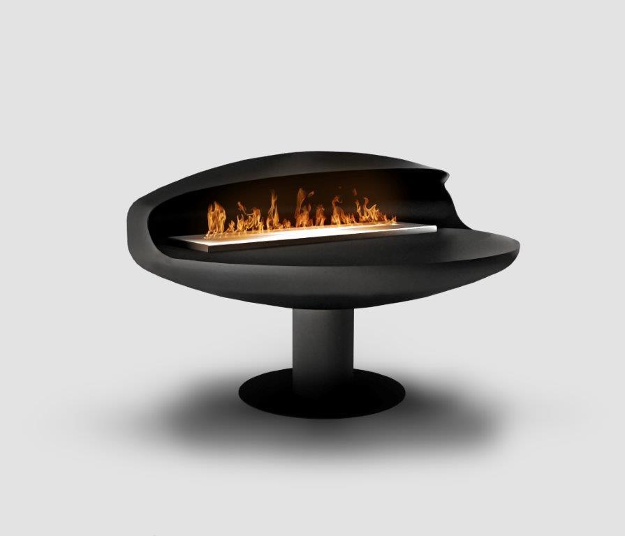 Float Pedestal Bioethanol Fireplace