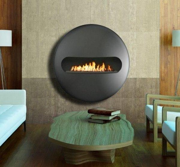 Dot flatback biofuel fireplace