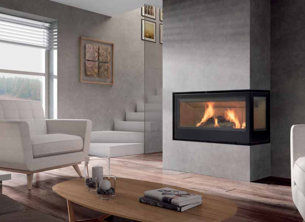 Rocal Graffiti Ld Amp Tc Closed Combustion Fireplace