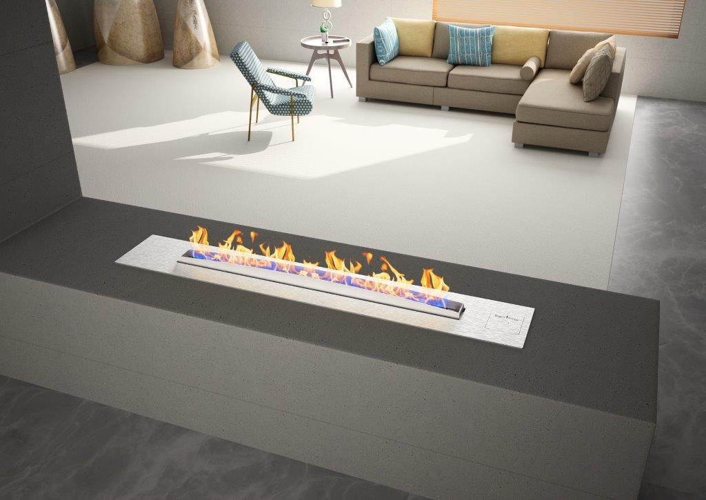 Vent Free Gas Fireplace Modern Indoor Fireplaces
