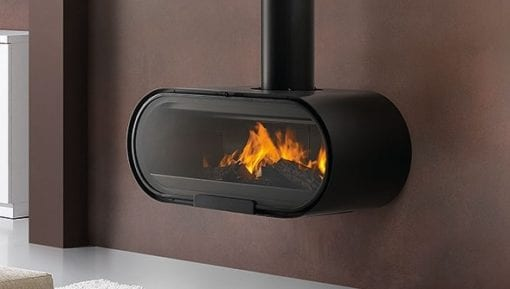 Rocal D8 closed combustion fireplace