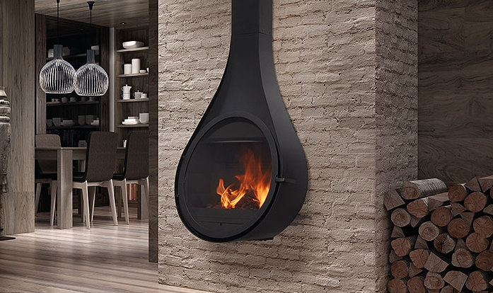 Rocal Drop Closed Combustion Fireplace Beauty Fires