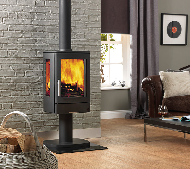 Acr Neo Pedestal Closed Combustion Fireplace Beauty Fires