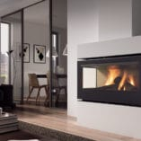 Rocal TC Graffiti closed combustion fireplace