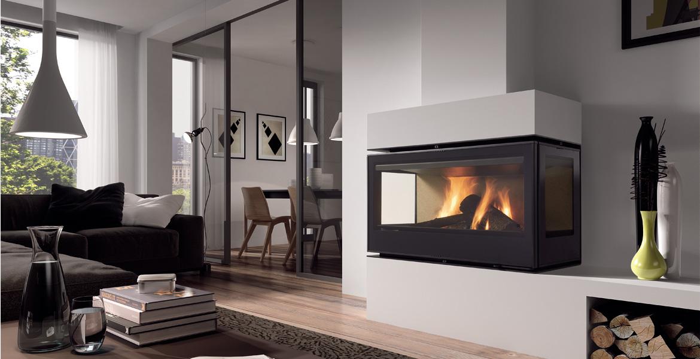 Rocal TC Graffiti closed combustion fireplace