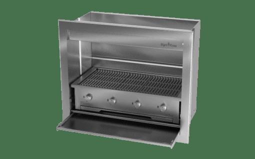 Gas Insert Braai Body 1000mm_GAS 970 1
