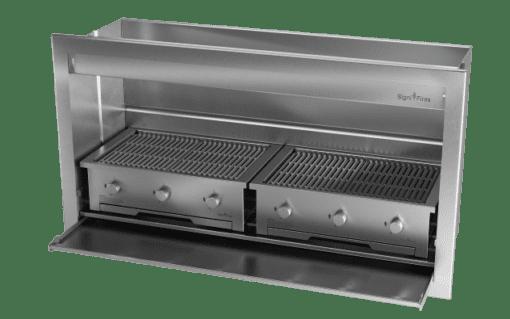 Gas Insert Braai Body 1600mm 304 SS_GAS 770 X 2 1