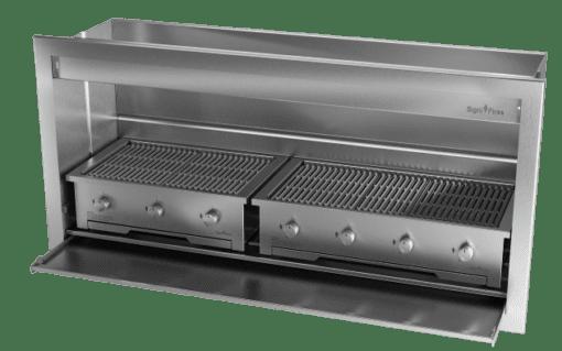 Gas Insert Braai Body 1800mm 304 SS_GAS 770 & 970 1
