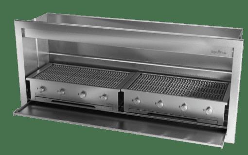 Gas Insert Braai Body 2000mm 304 SS_GAS 970 X 2 1