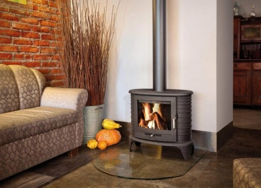 K8 Freestanding Closed Combustion Fireplace