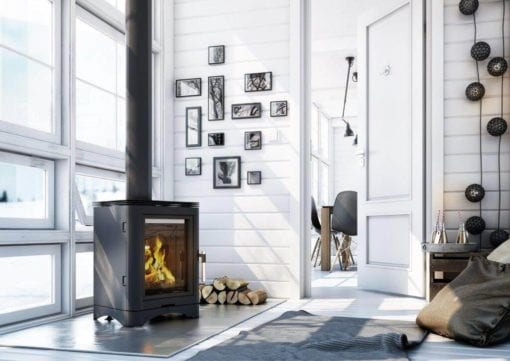 K5 Freestanding Closed Combustion Fireplace