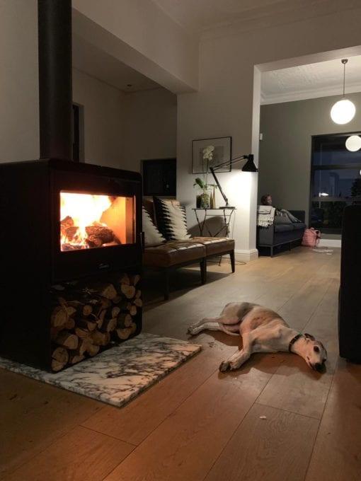 Lacunza Atlantic 603 freestanding fireplace