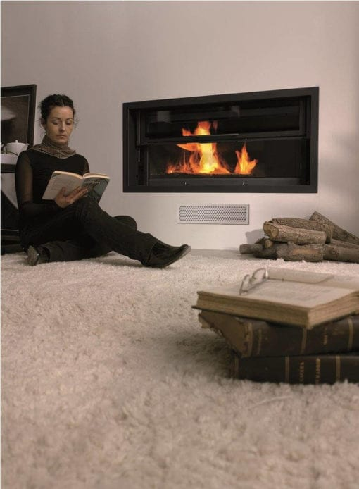 Itaca 1200 closed combustion insert fireplace