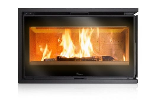 Lacunza Adour CLD two sided fireplace