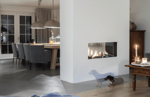 Faber Aspect Premium L See Through Gas Fireplace
