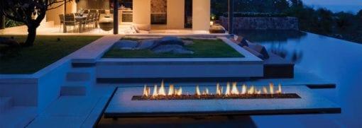 Outdoor rectangular gas fire pit (4)